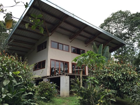 Bamboo House in private forest Ecuador paradise