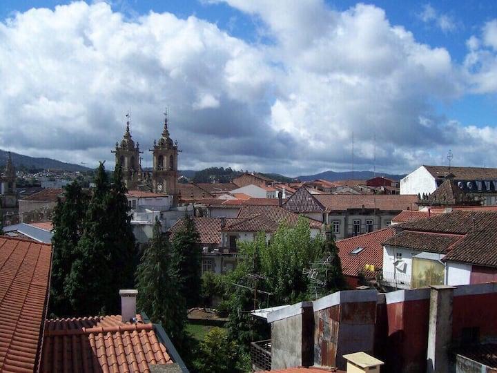 Vidunderlig udsigt over Braga