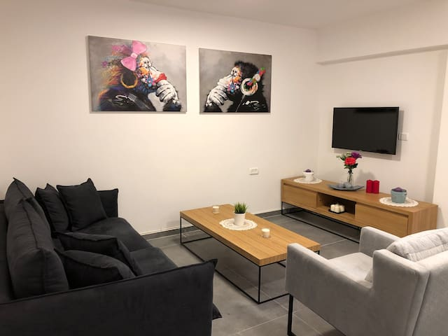 Central Tel Aviv! beach front! and fully furnished