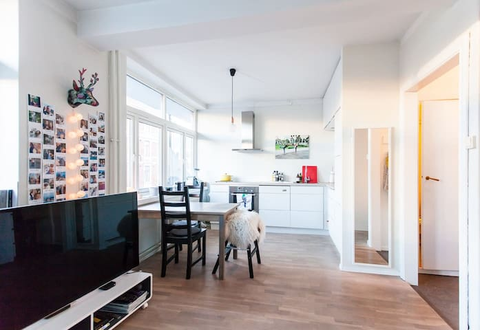 Heart of Oslo - bright, modern apt by Royal Palace - Oslo - Apartment