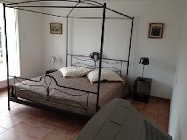 Country side, big bedroom with lounge/terrace - Inzinzac-Lochrist - Rumah