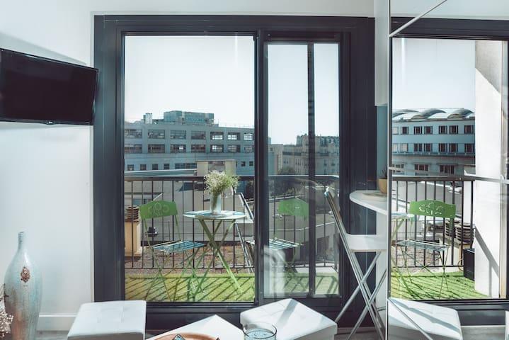 Cosy Studio avec balcon