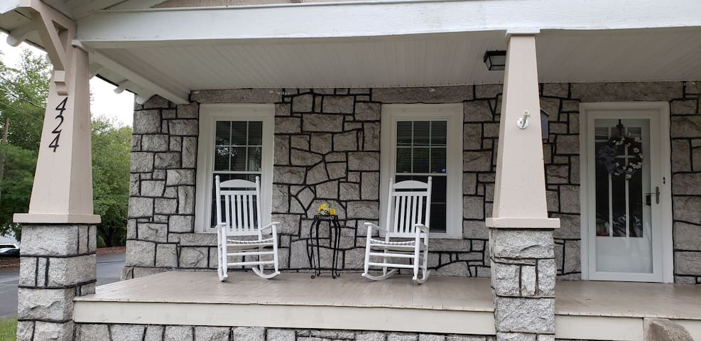 Stay in Mount Airy's Granite Home