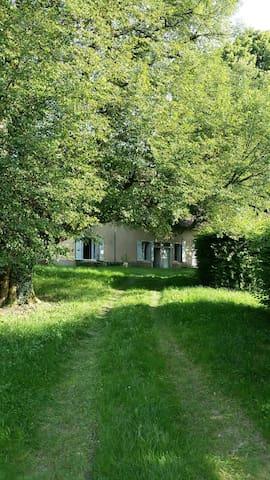MAISON ANCIENNE SUR UNE MOTTE MEDIEVALE - La Loye - House