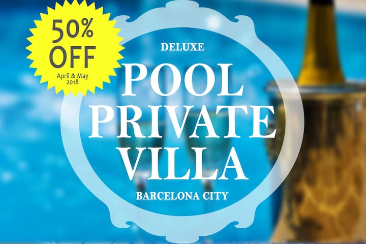 Bcn City Swimming Pool & Jacuzzi Deluxe Villa