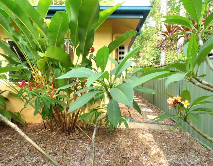Cairns Rainforest Cottage ~Tropic Hideaway Pets OK