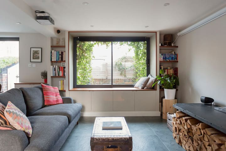 Rustic Modern House in Stoke Newington