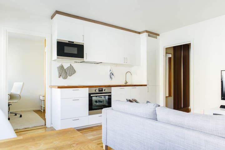 Lovely apt. central Sundbyberg - Sundbyberg - Apartment
