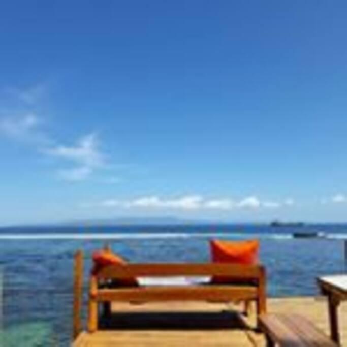 Relax chair at Beach House
