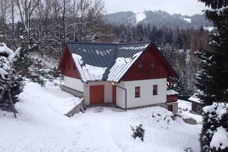 Moderní horská chata