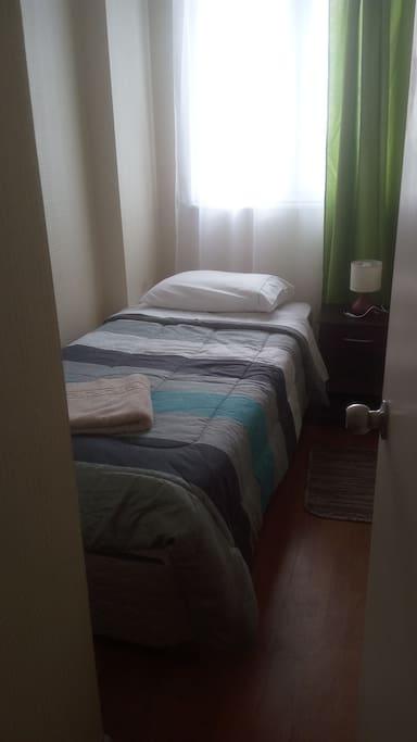Habitación cama 1 plazs