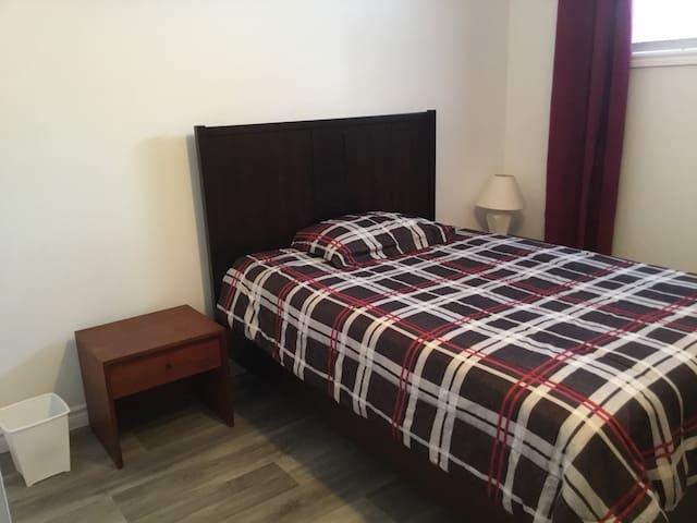 Chambre confortable et tranquille.