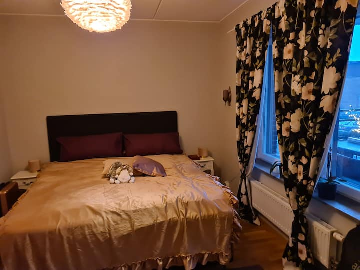 Modern room  30 min from Stockholm citycentre