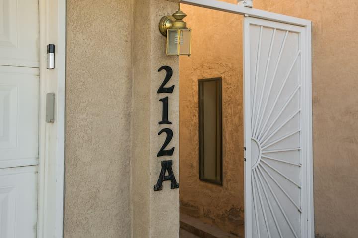 Garage keypad entry into house