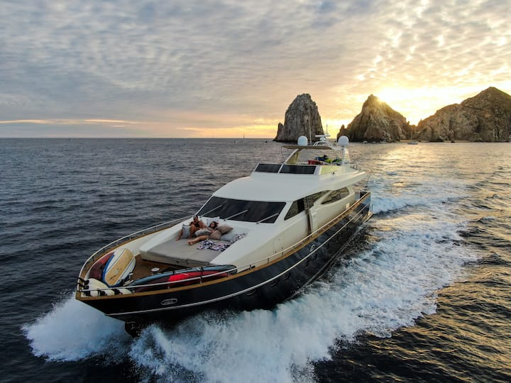 96ft private yacht with lots of water toys