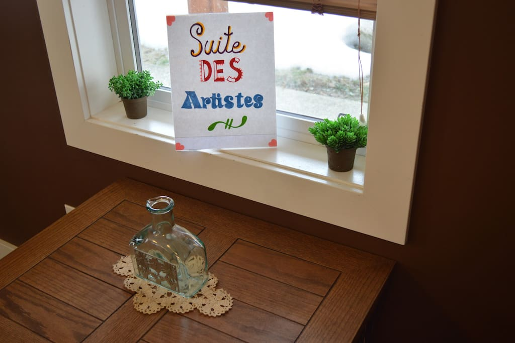 Welcome to Suite Des Artistes!