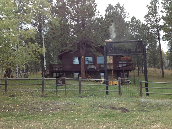 Beautiful Black Hills cabin getaway
