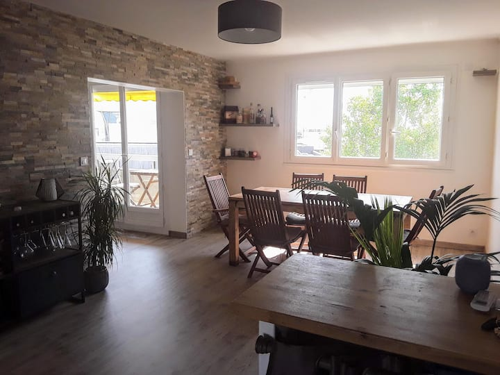 Beautiful apartment close to Bordeaux and ocean
