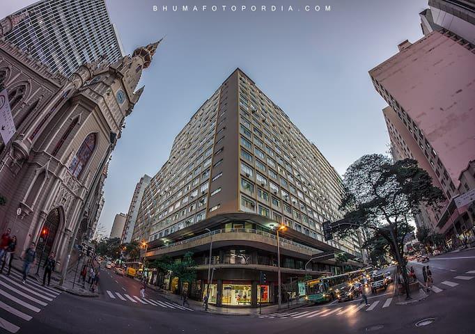Apart. aconchegante no Centro de Belo Horizonte