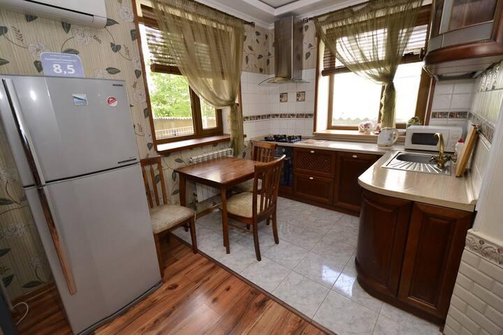 Уютный дом с прекрасным расположением в г. Анапа