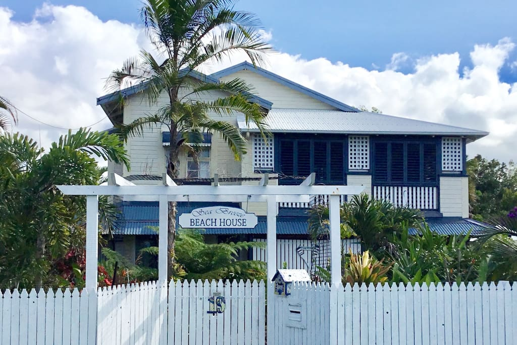 Our home  The Old Queenslander full of charm and character ♥️