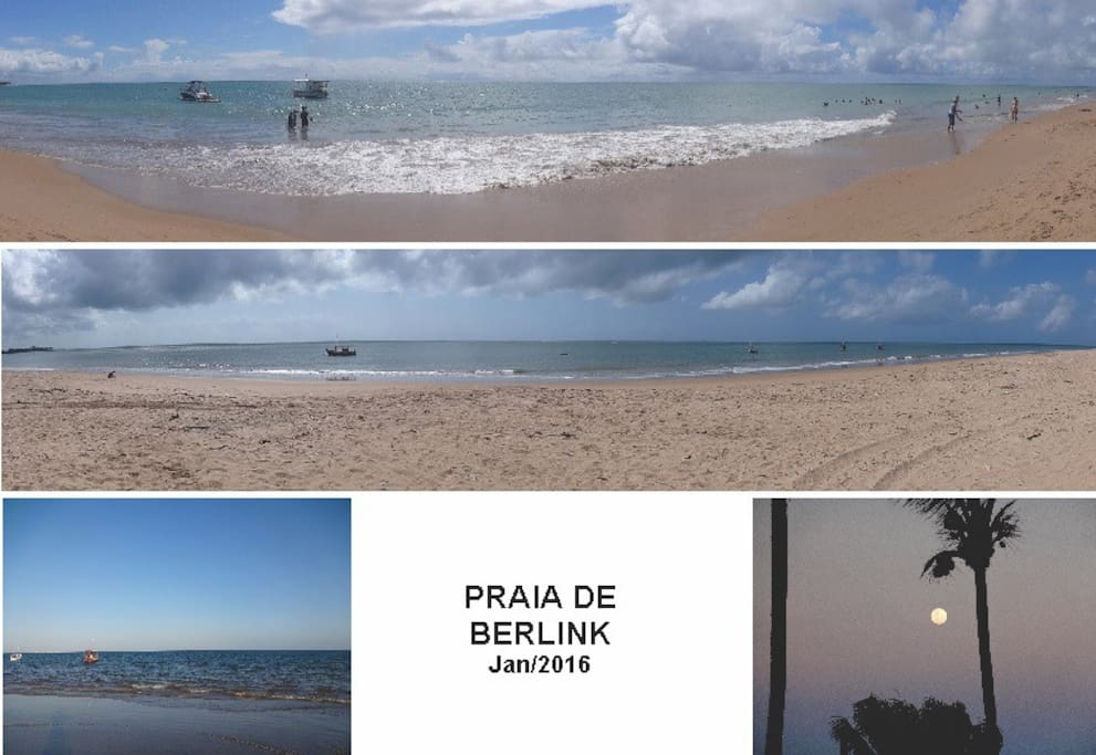 Praia local