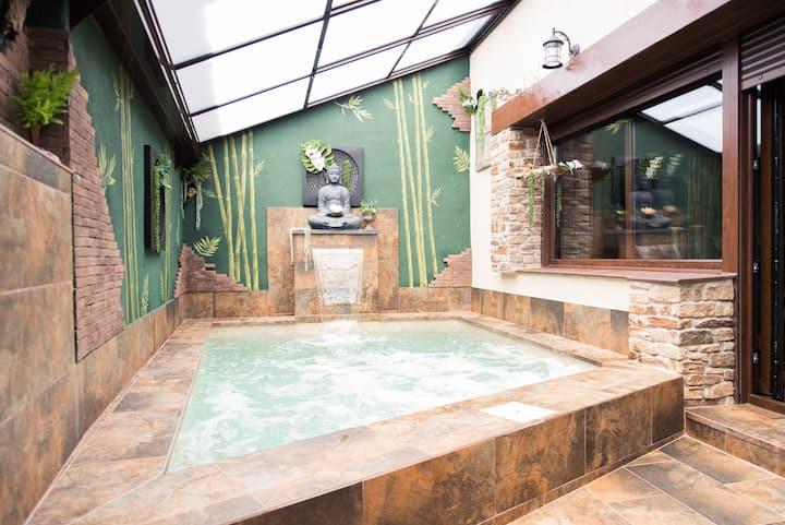casa rural con piscina climatizada la musical