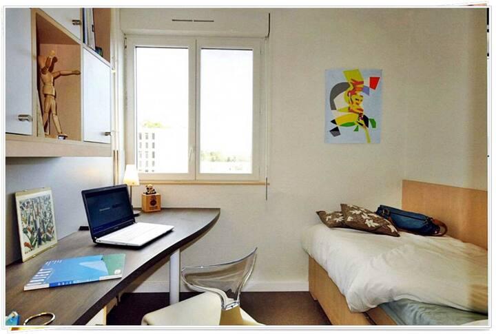 Studio dans résidence à 15 min de paris