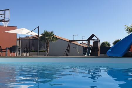 Maison récente ❤ piscine spa ❤ près du PUY DU FOU