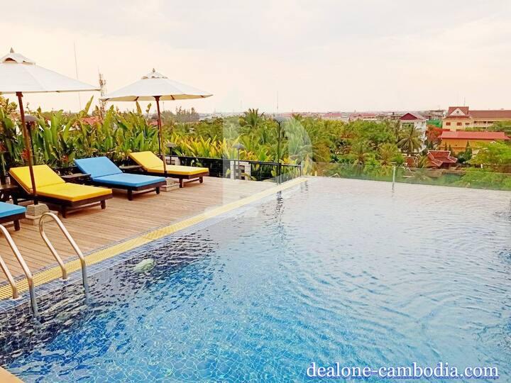 Lovely Studio Room For Rent in Siem Reap