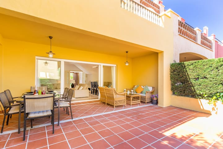 Spacious house for rent in Marbella Golden Mile