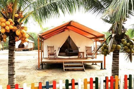 A beautiful 36m2 luxury tent - El Viejo