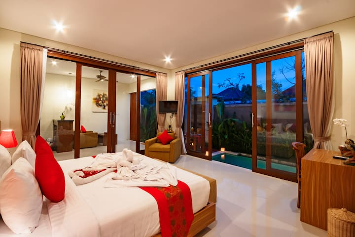1 Bedroom Cozy Villa With Private Pool, Sanur