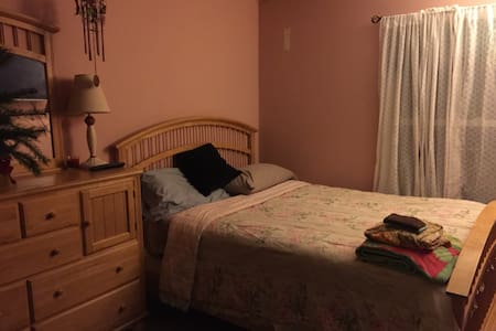 Cozy room with queen bed - Pasadena - Maison
