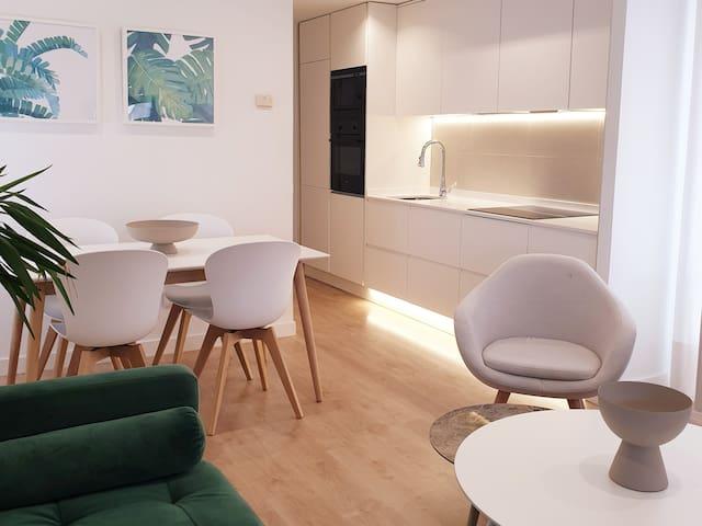 Apartamento moderno para 4 personas  en Madrid