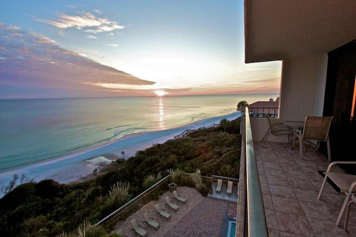 508 One Seagrove Place ~ Amazing Gulf Views, Pool Heat, 2 King Beds, Complimentary Beach Chair Setup