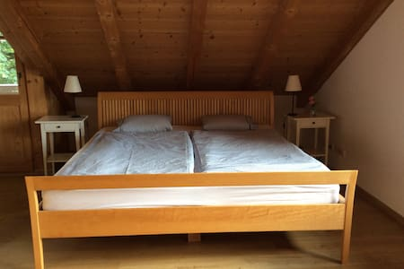 Zentrales Zimmer im Dachgeschoss - Oberammergau - House - 1