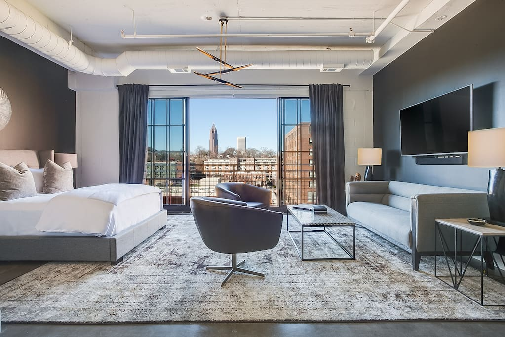 The edison studio at ponce city market apartments for - 3 bedroom apartments in atlanta ga ...