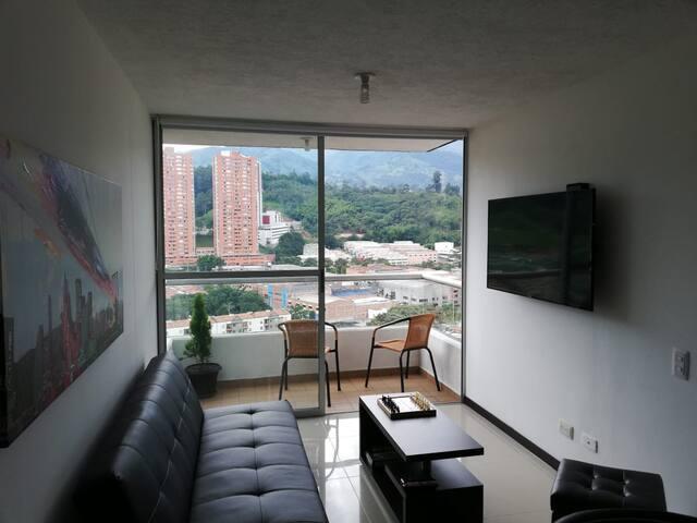 Apartamento con excelente vista y ubicación