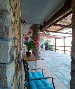 """Alloggio """"bluette"""" della """"casa vacanze Quassu'"""""""