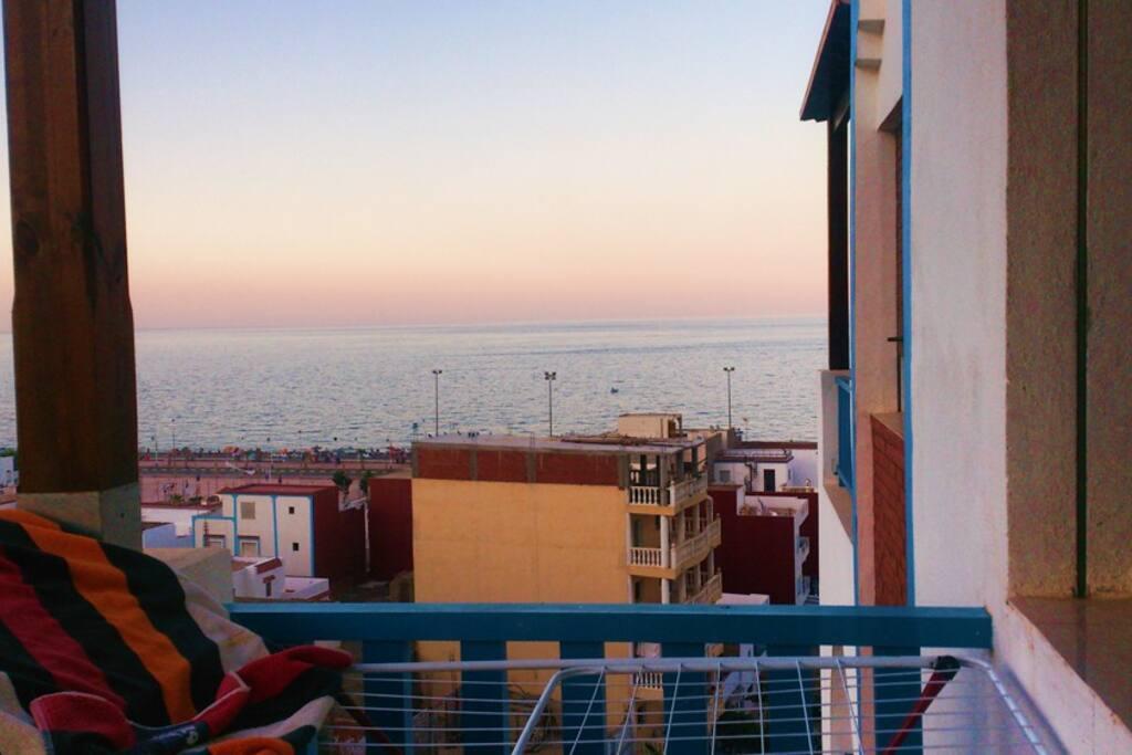 Appartement oued law avec jolie vue sur mer for Chambre a coucher wad kniss