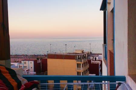 Appartement à Oued law avec jolie vue sur mer - Oued Laou - Lejlighed