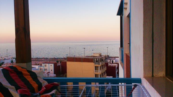 Appartement à Oued law avec jolie vue sur mer
