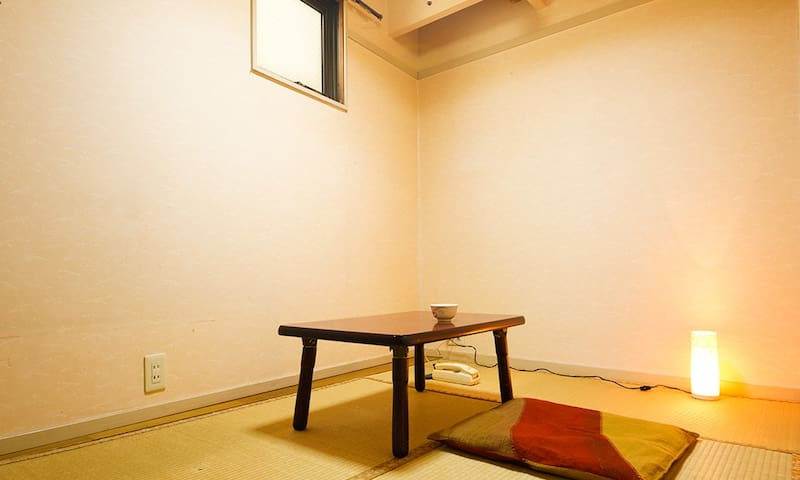 Single Japanese-Style Room (for 1 Person)