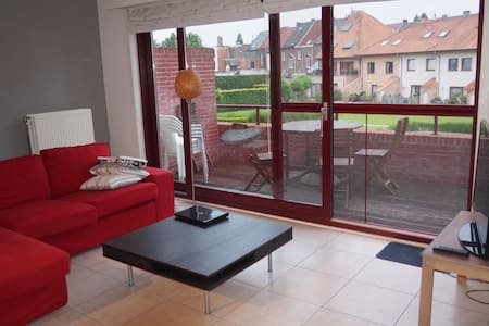 Bright spacious apartment in the center of Aalst - Aalst - Apartemen