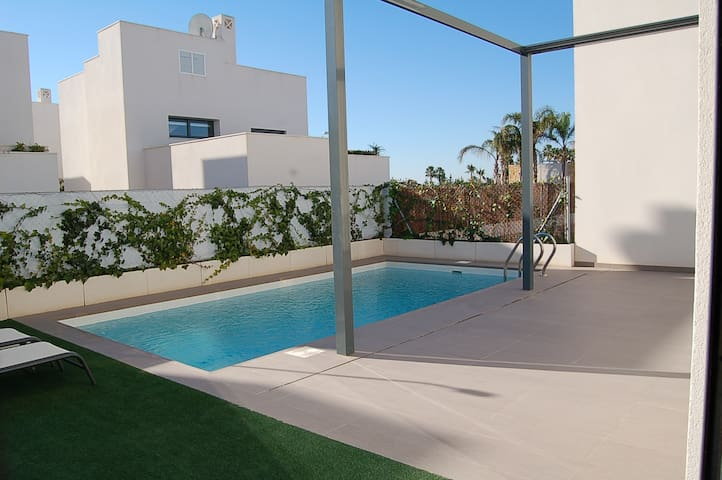 Pool-Design Villa See + Meerblick - Rojales - Apartment