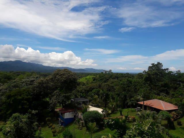 Beautiful villa with spectacular ocean views