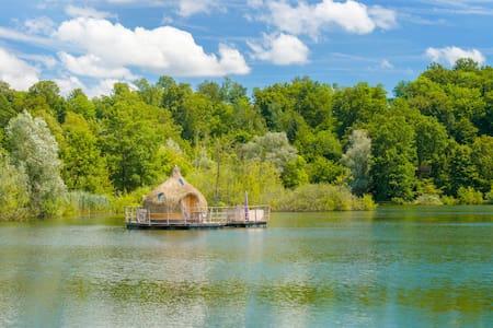 Cabane Spa Boréale pour 2 personnes - Chassey-lès-Montbozon - Kulübe