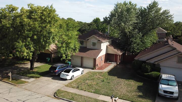 Modern House Near Large Hospitals and DFW Airport