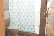 Picture of the private bathroom -Shower Area (1/2)